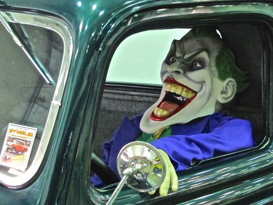 Giuliani on the way to his next press conference...